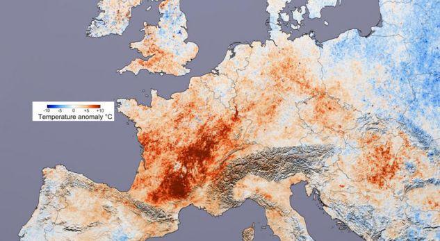 2018-a, viti i klimës së pazakontë në Evropë