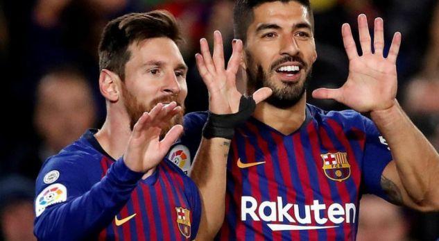 Messi dhe Suarez mbretërojnë në Europë