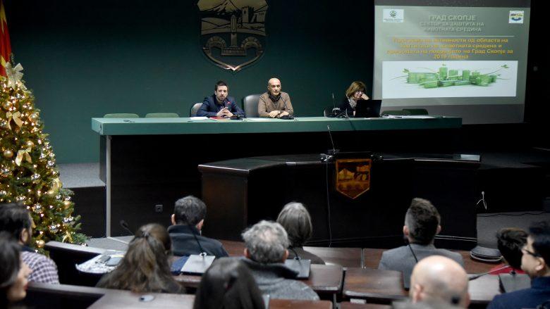 Bashkia e Shkupit ndan 186 milionë denarë për mbrojtjen mjedisit jetësor