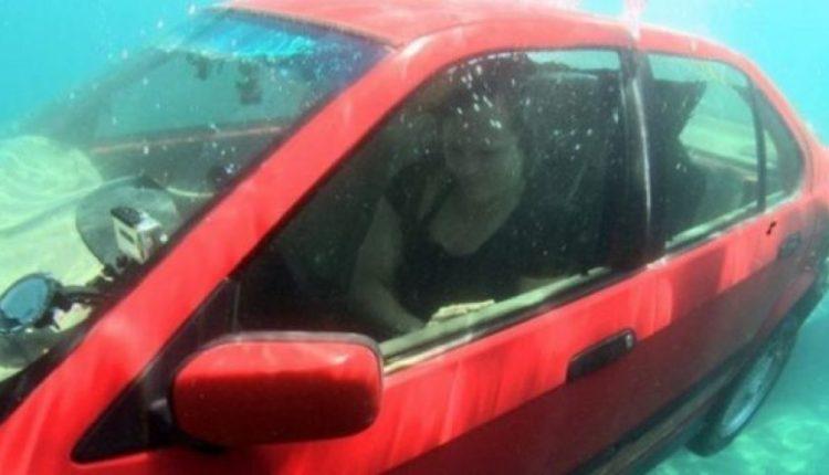Metoda, si mund të shpëtoni nëse bini në ujë me makinë