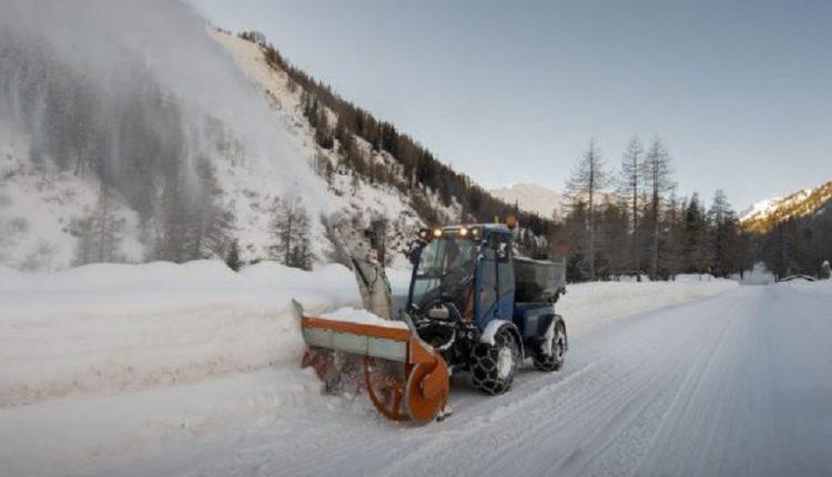 Zvicra mbulohet nga bora, trashësia arrin deri në 73 centimetra