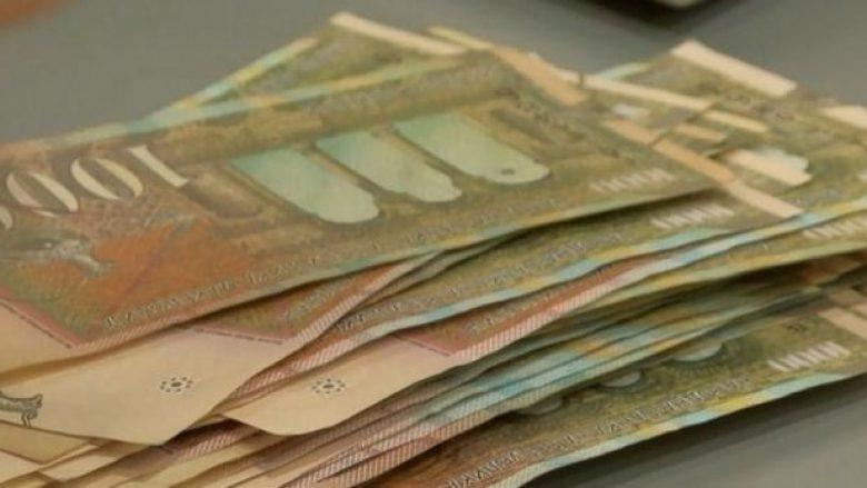 Publikohet paga mesatare për muajin nëntor në Maqedoni