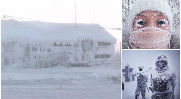 Si jetojnë njerëzit në qytezën më të ftohtë në botë? (VIDEO)