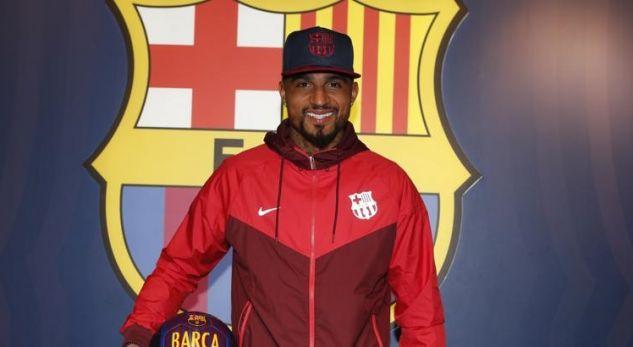 Boateng e zgjedh numrin që do ta bartë në fanellën e Barcelonës