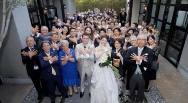 Dasmë shqiptare në Japoni, valle e këngë tradicionale