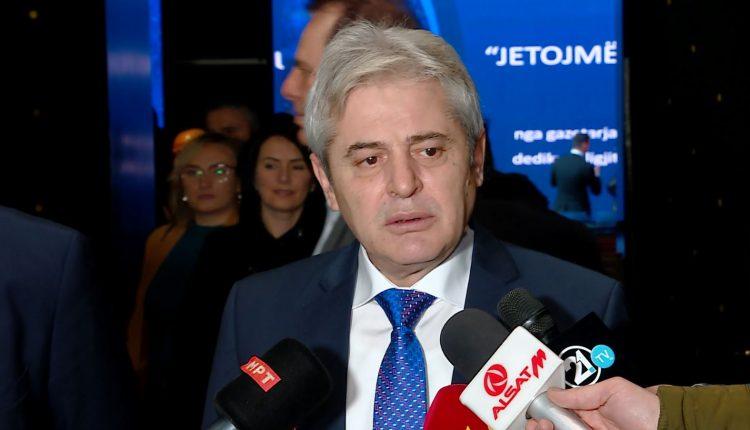 Ahmeti: BDI s'do garojë e vetme në presidencialet (VIDEO)