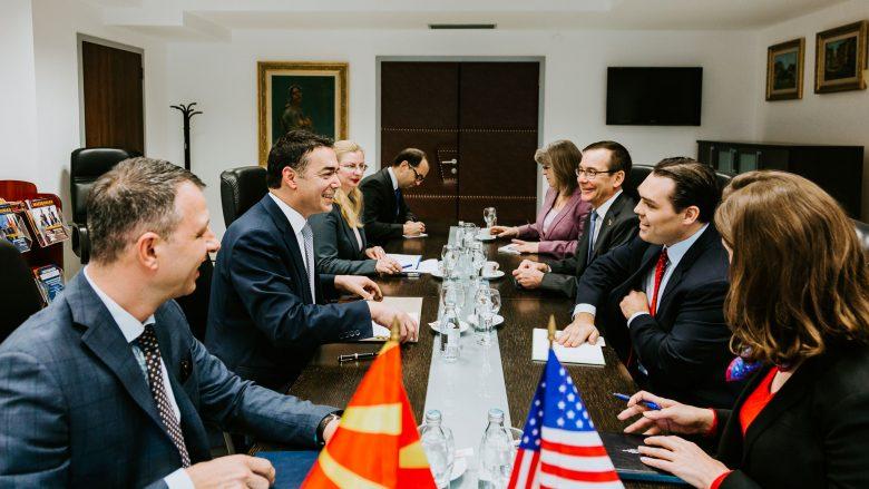 Dimitrov falënderon SHBA-të për mbështetjen e vazhdueshme për arritjen e qëllimeve strategjike të Maqedonisë