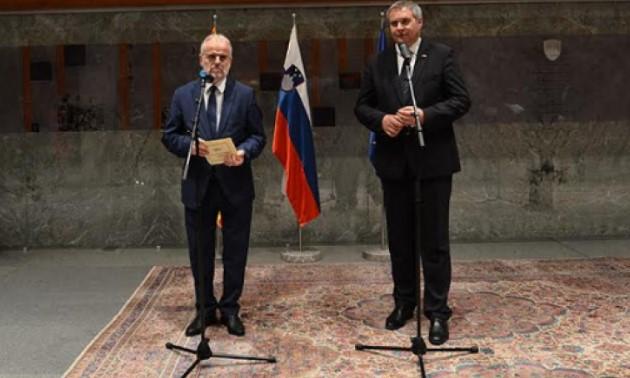 Xhaferi-Zhidan: Sllovenia është mbështetëse e fuqishme e Maqedonisë në rrugën e integrimeve euroatlantike