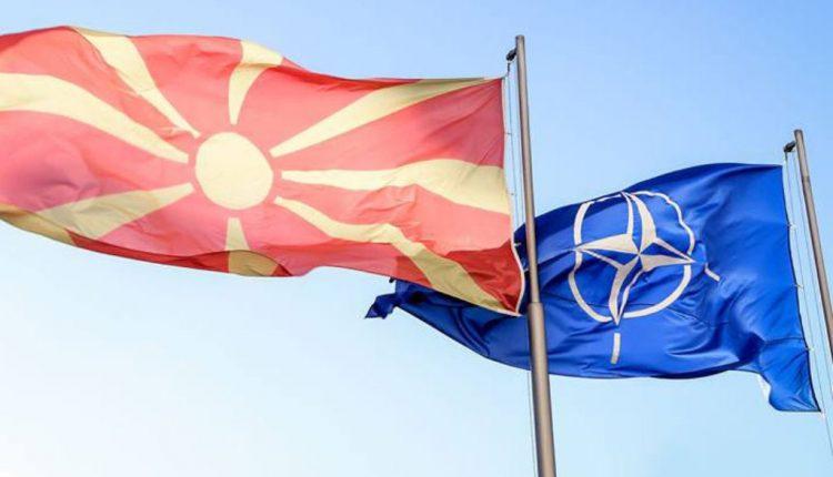 Sot ngrihet flamuri i NATO-s në Maqedoninë e Veriut