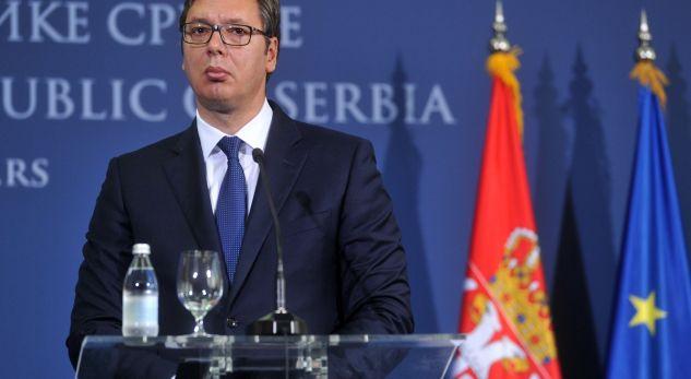 Vuçiq tregon kushtin përfundimtar për vazhdimin e dialogut me Kosovën