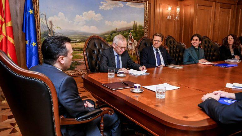 Zaev-Priebe: Zgjedhjet duhet të zbatohen me sukses që vëmendja të ngel në reformat