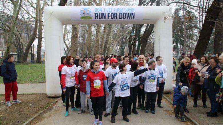 Shkup, garë humanitare për fëmijët me Sindromin Down