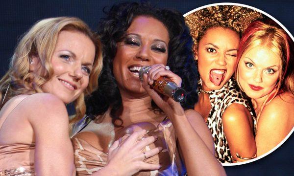 Këngëtaret e Spice Girls, seks me njëra-tjetrën