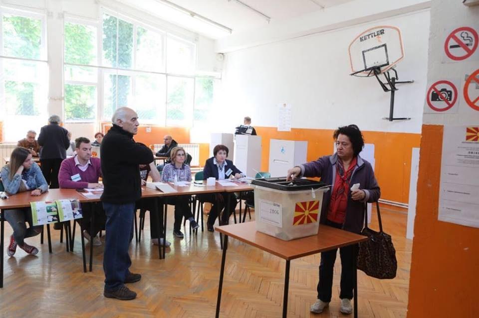 Dalin rezultatet e para të zgjedhjeve në Maqedoni