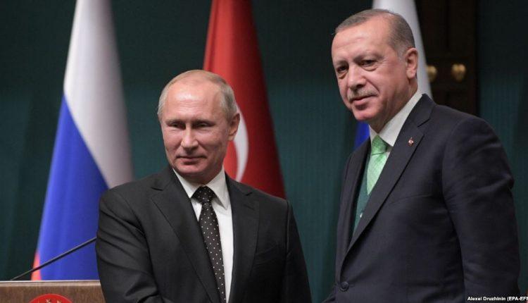 Mosmarrëveshjet Turqi-NATO, Erdogan e Putin takim në Moskë