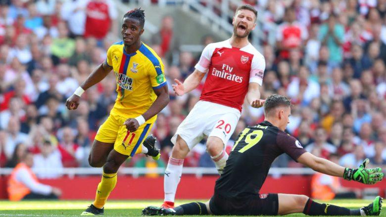 Arsenal 3-2 Crystal Palace, notat e lojtarëve