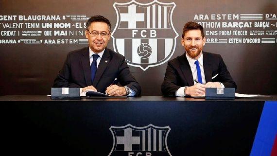 Barcelona dëshiron ta mbajë Messin në klub përgjithmonë