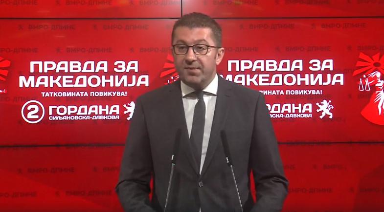 Mickoski: Të dalim në zgjedhje, që të mos zgjedh Kuvendi kryetarin e shtetit