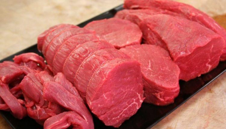 Meshkuj, hani mish të kuq