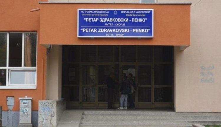 """Thyen xhamat e shkollës fillore """"Penko"""" në Shkup (FOTO)"""