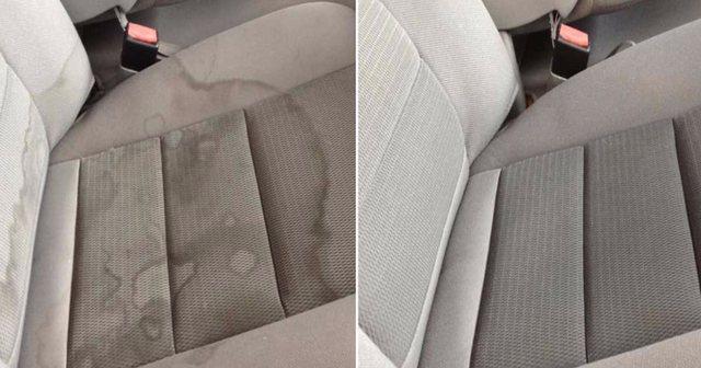 Truket perfekte për të pastruar makinën nga njollat e fëmijëve ose të pijeve