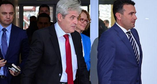 Sot pasdite takim Zaev-Ahmeti, diskutojnë për ndryshimet në qeveri