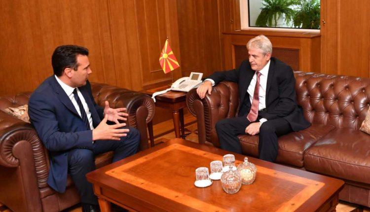 Zaev  Ahmeti  Së pari bisedime brendapartiake  pastaj në nivel liderësh për forcimin e kapaciteteve kadrovike