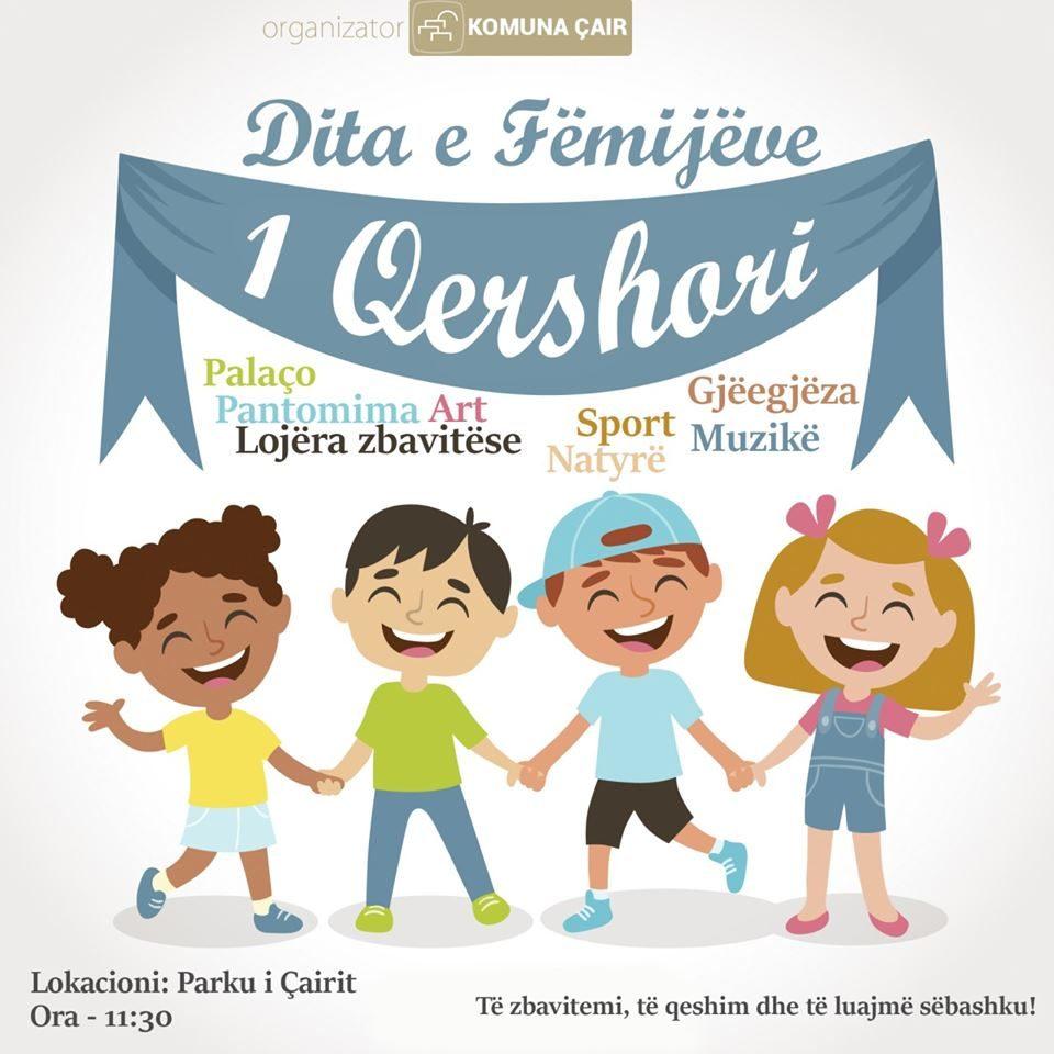 Komuna e Çairit të shtunën shënon Ditën Botërore të Fëmijëve