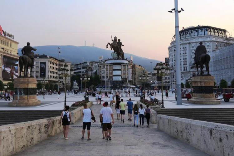 Gjoba deri më 50 euro për parkim jo të rregullt në Shkup 5 minuta më parë