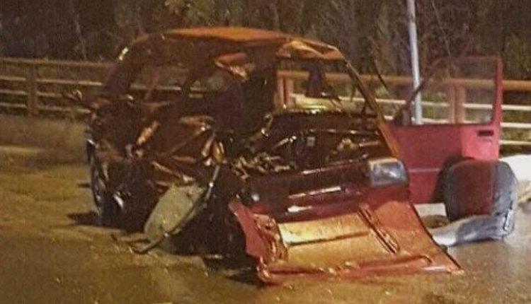 Video e tmerrshme nga aksidenti ku humbën jetën pesë persona në Shkup (Video)