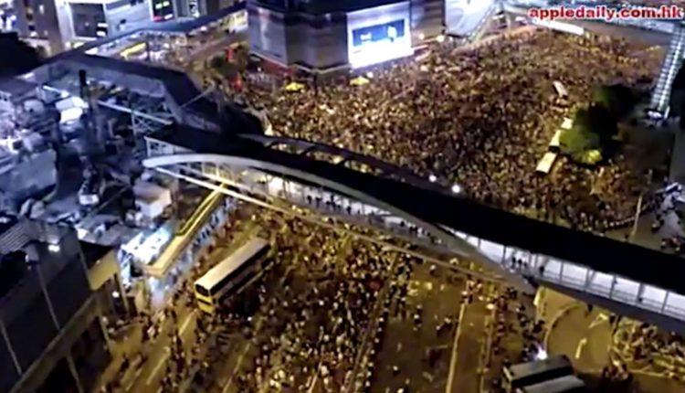 Më shumë se 1 milion protestues në Hong Kong, pamje spektakulare të turmës masive (VIDEO)