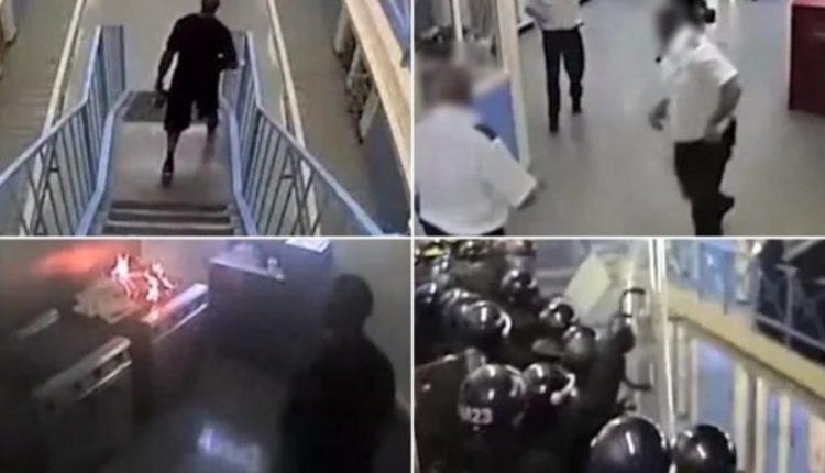 Kamerat e sigurisë filmojnë rebelimin më të madh në burgjet e Britanisë (VIDEO)