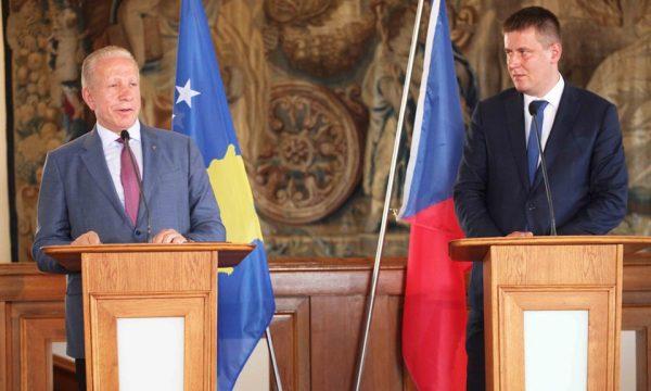 Pacolli: Çekia përkrah anëtarsimin e Kosovës në INTERPOL