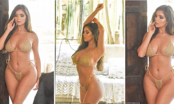 Demi Rose kallë Instagramin me fotot e fundit në bikini