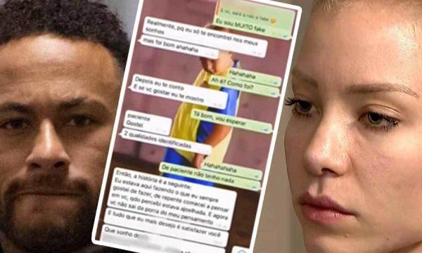 Zbulohen edhe mesazhet e tjera mes Neymarit dhe vajzës që e akuzon për përdhunim