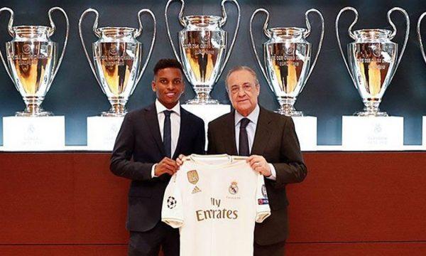 Real Madridi prezanton futbollistin e ri brazilian
