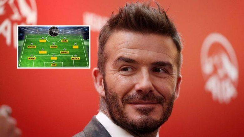 Formacioni i mundshëm i Beckhamit te Inter Miami: Messi dhe Ronaldo në një skuadër
