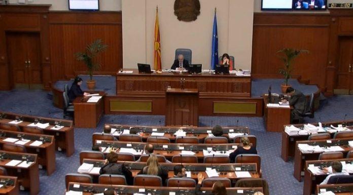 Kuvendi konstaton dorëheqjen e Nikolla Gruevskit