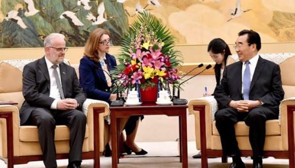 Xhaferi-Xhang: Do të rritet bashkëpunimi ekonomik mes Kinës dhe Maqedonisë