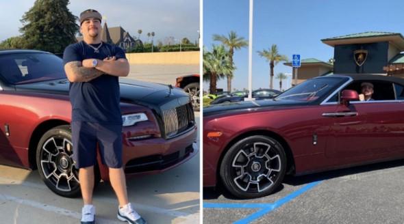 Ruiz po e shijon jetën në Rolls Roycen që kushton 395 mijë euro, pas fitores ndaj Joshuas