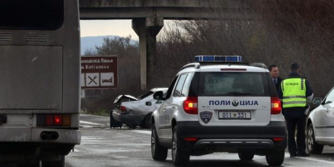 Tragjedi në qarkoren e Shkupit, një i vdekur dhe dy të lënduar rëndë (FOTO)
