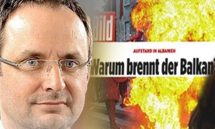 Flet gazetari që publikoi përgjimet e kriminelëve në Bild