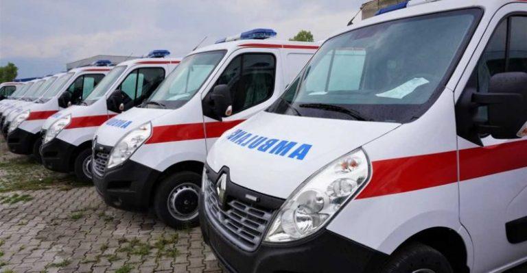 Lëshohen në përdorim auto-ambulancat e reja të Ndihmës së Shpejtë