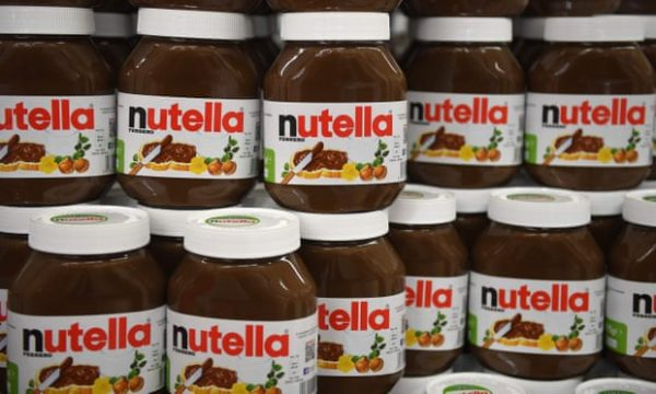 Pezullohet prodhimi i Nutella-s