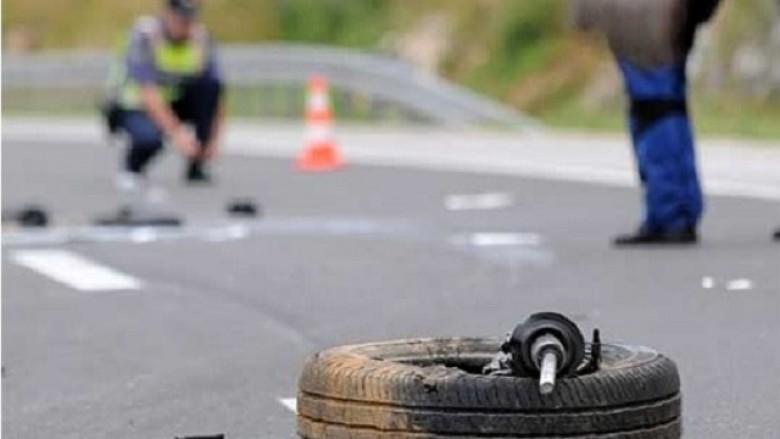 Tre persona rëndë të lënduar në disa aksidente në Shkup