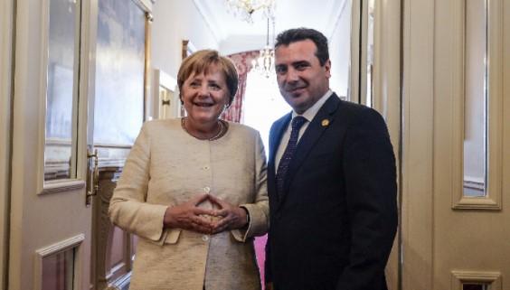 Zaev sot në takim me Merkelin, deputetët gjermanë për vizitë në Maqedoninë e Veriut