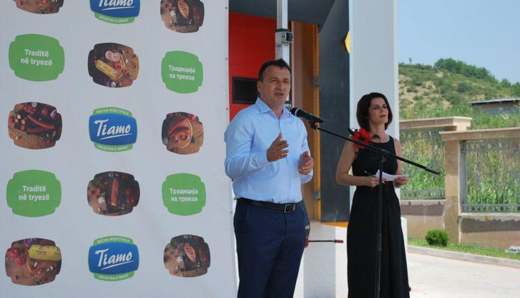 Blerim Bexheti mbështet biznesin në Saraj, hapet fabrikë e re e mishit (FOTO)