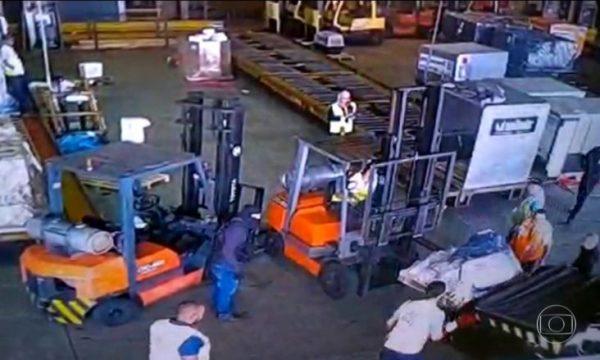 750 kilogramë ari në vlerë 30 milionë euro, publikohen pamjet e vjedhjes në një aeroport të Brazilit