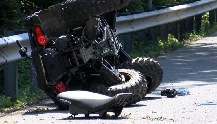 Del nga rruga motoçikleta ATV me targa të Zvicrës, lëndohet 37-vjeçari nga Kumanova