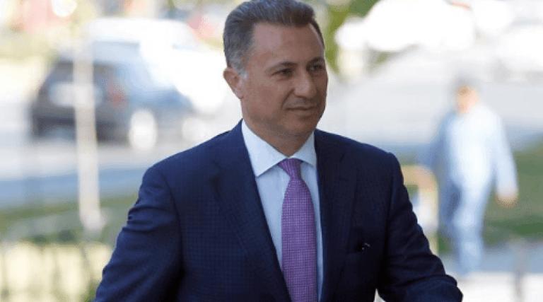 Gruevski paralajmëron rikthimin e tij në Maqedoni